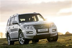 Car review: Mitsubishi Shogun