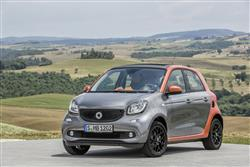 Car review: smart forfour