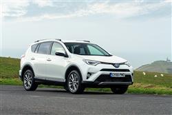 Car review: Toyota RAV4 2.5 VVT-i Hybrid