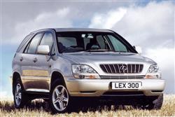 Car review: Lexus RX 300 (2000 - 2003)