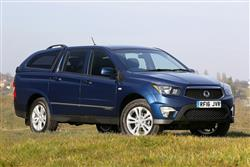 Car review: SsangYong Korando Sports Pick-Up (2012 - 2016)
