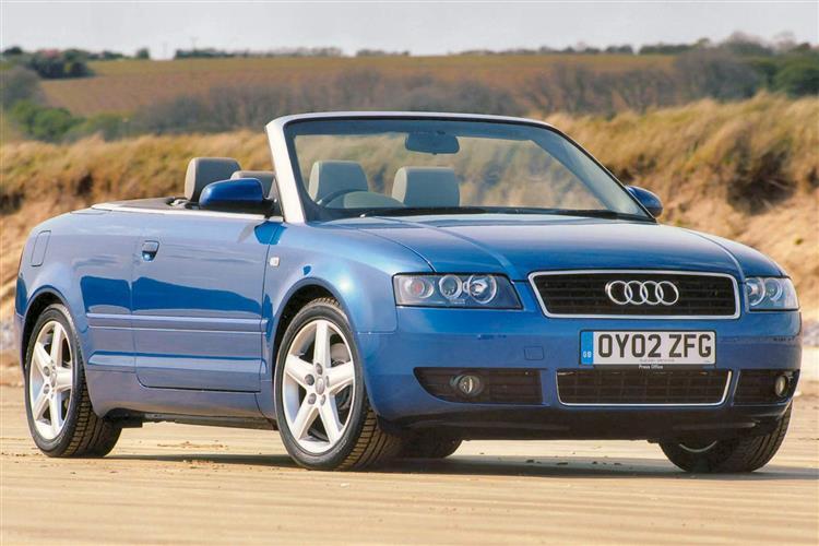 car review 207496 audi a4 cabriolet 2001 2006. Black Bedroom Furniture Sets. Home Design Ideas